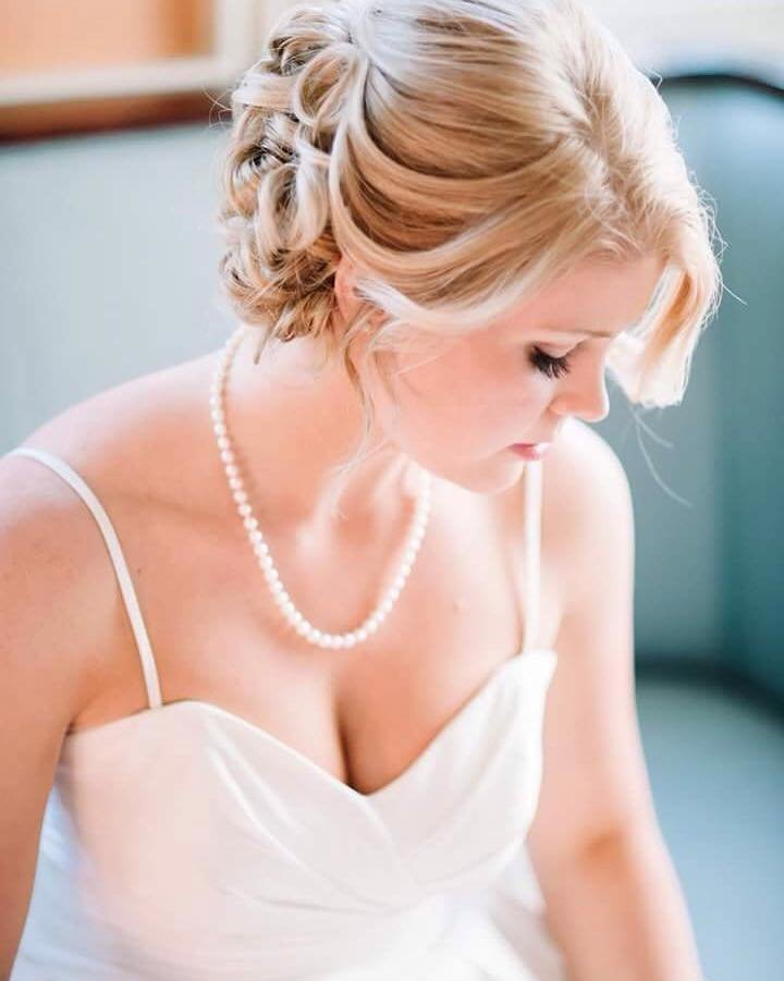 bridal beauty and lashes