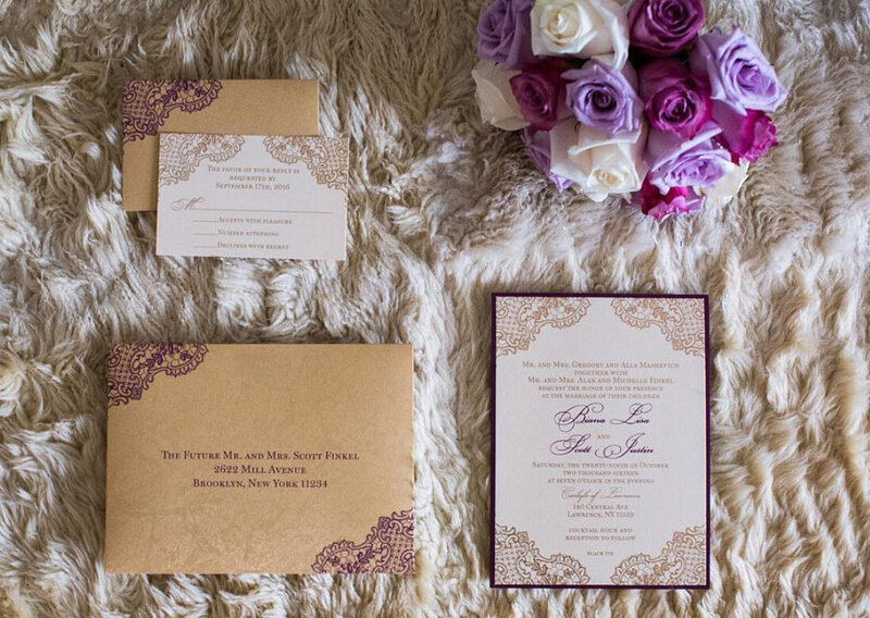 classic-lace-burgundy-gold-custom-wedding-invitations