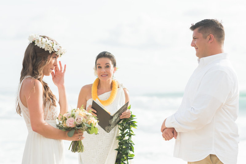 Simple oahu wedding packages