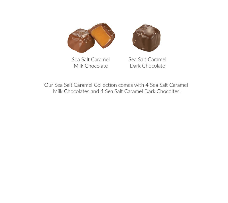 What's In the Box 8pc Sea Salt Caramel