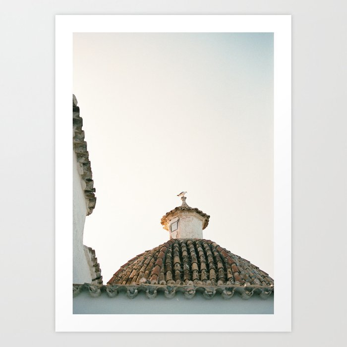 travel-photography-ibiza-sunset-rooftop-modern-wall-art-pastel-poster-spain-prints-4