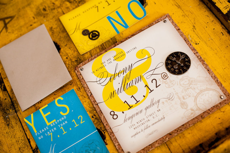 blue-and-yellow-industrial-wedding-invitation-suite