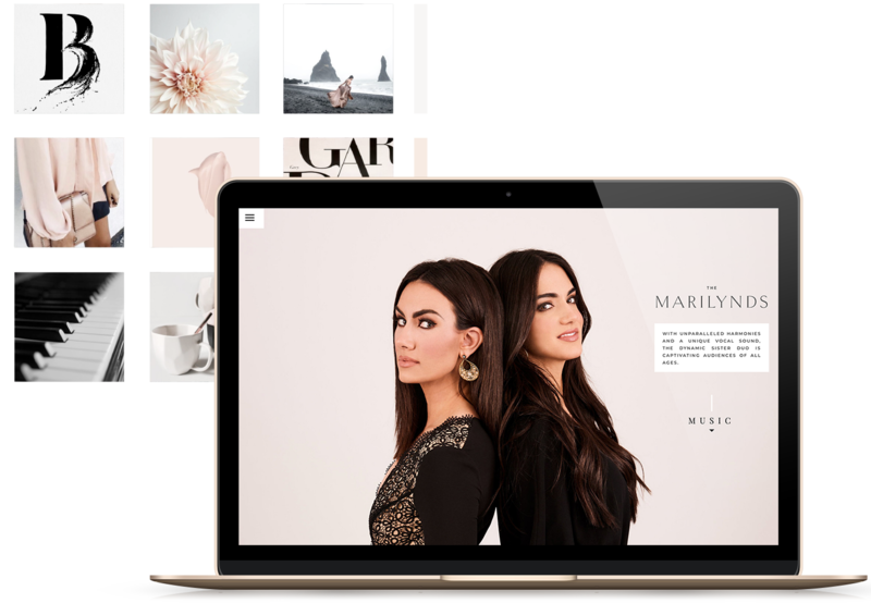 Heartfelt Web Designs & Branding for Female Creatives by Viva la Violet | Showit Designer | Showit Templates | Showit | The Marilynds