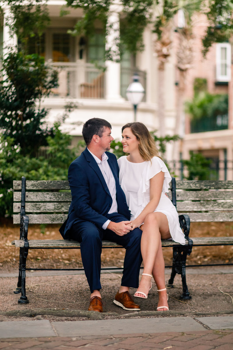 Downtown Charleston Engagement by Cory Lee Photography