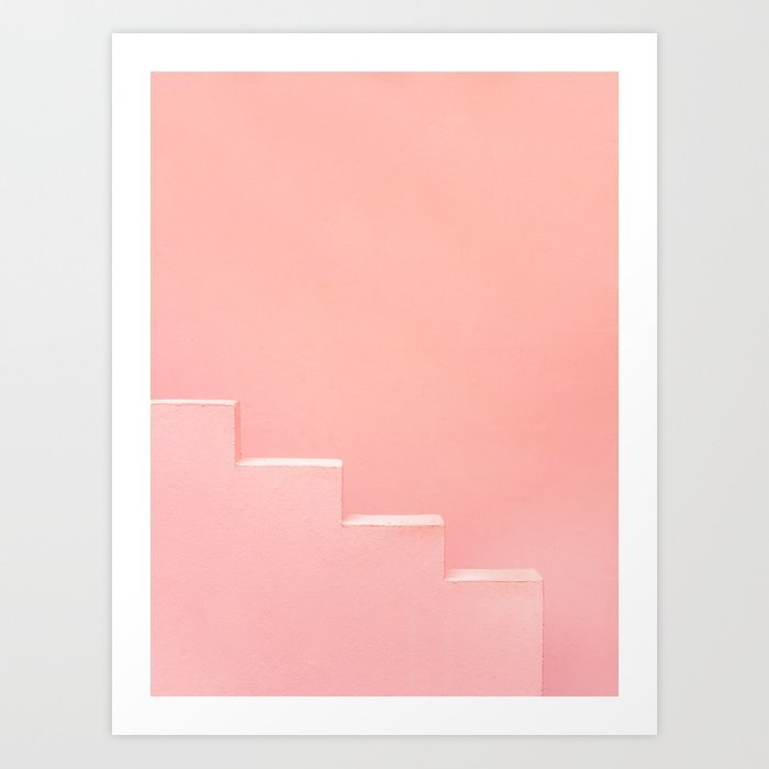 pink-steps-of-muralla-roja-spain-andalusia-travel-photography-art-pastel-colored-poster-prints