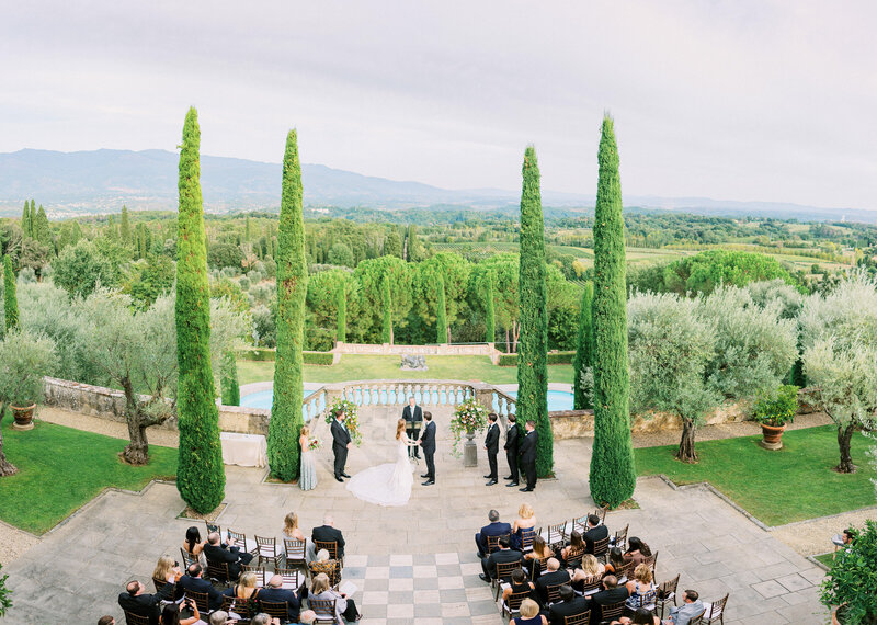 ideas for a wedding in Tuscany