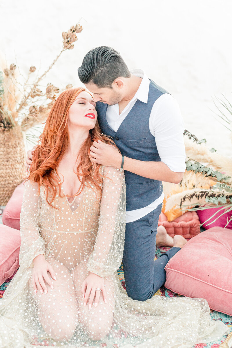 dubai themed white sands national park elopement
