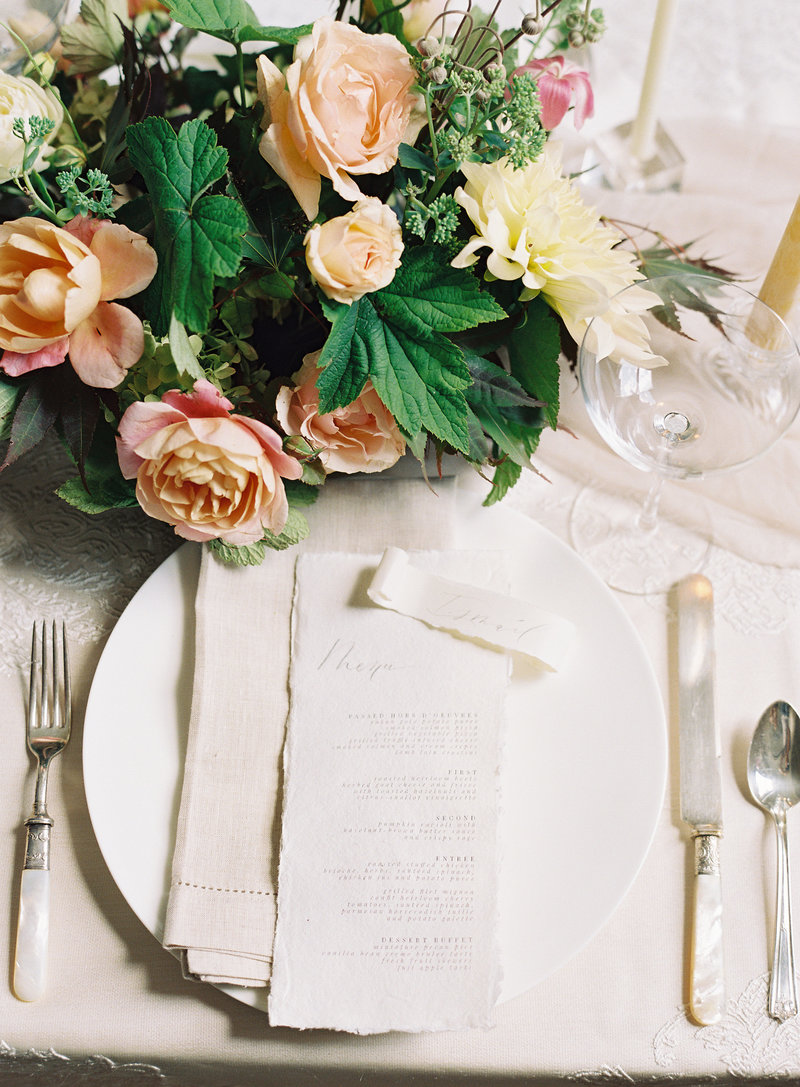 Inspiration for wedding reception  table decoration