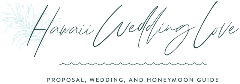 Hawaii Wedding Love - Custom Brand Logo and Showit Web Website Design by With Grace and Gold - 0