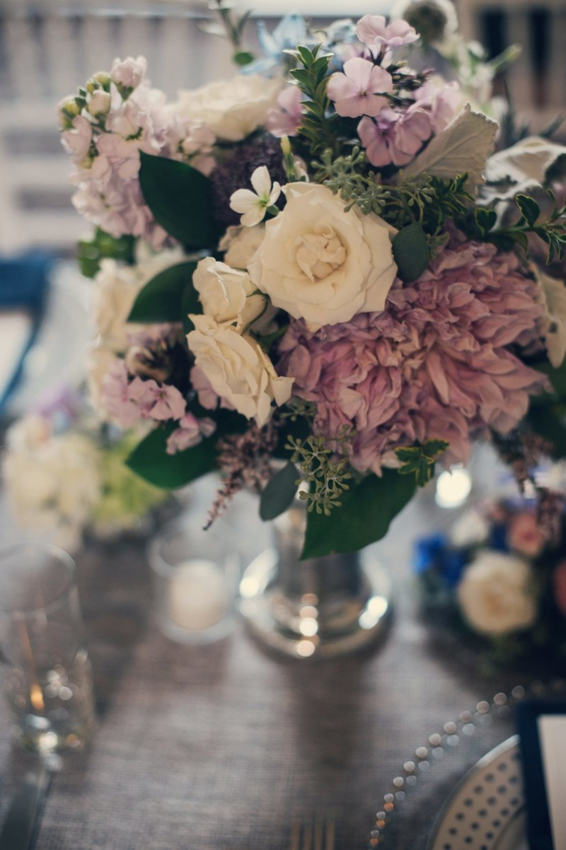 Romantic Navy Eolia Mansion Wedding in Waterford, CT