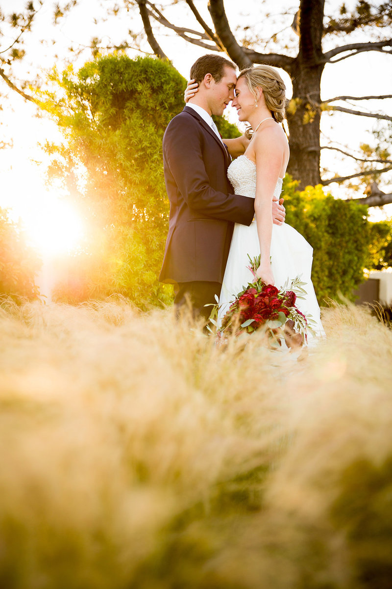 Tom Ham's Lighthouse wedding photos outside amazing light