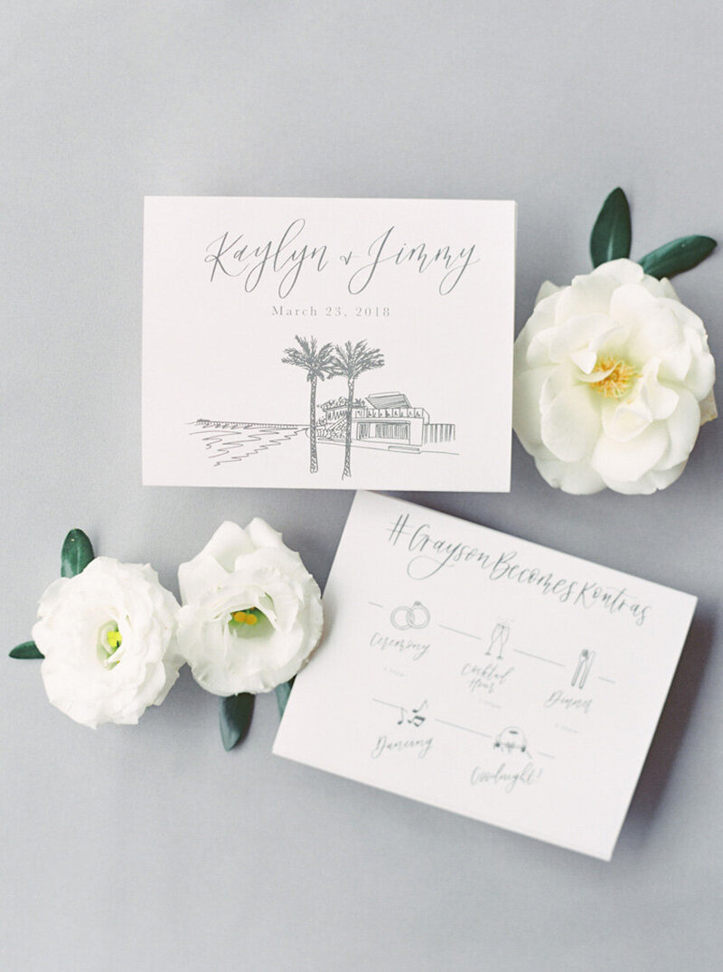 pirouettepaper.com | Wedding Stationery, Signage and Invitations | Pirouette Paper Company | Menus + Programs 34