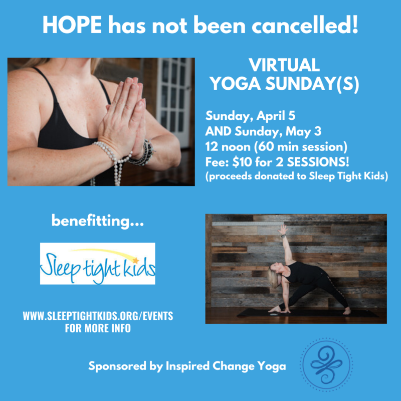 Virtual Yoga Social Media Flyer