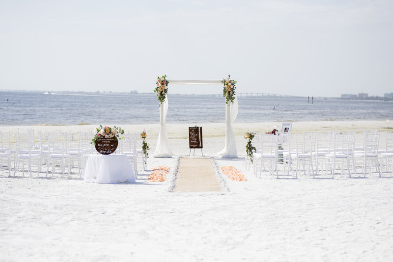 Pink Shell Resort Wedding In Fort Myers Florida _000