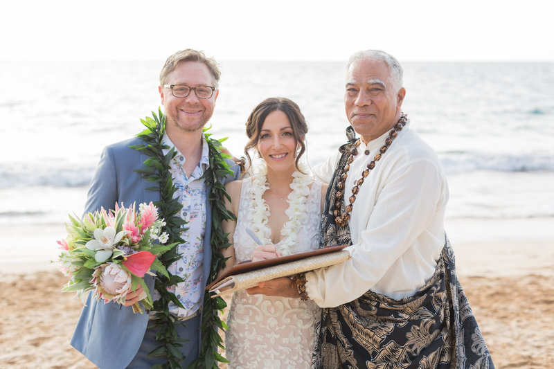 How do we get our Hawaii Marriage license?