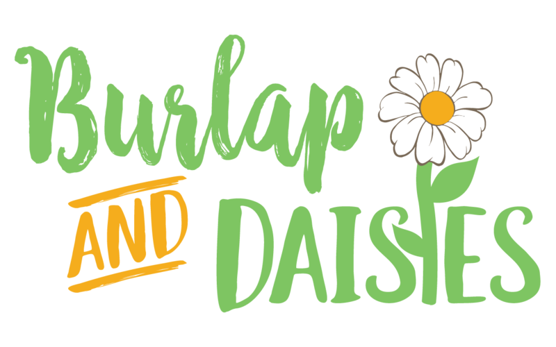 Burlap-daises-2-boxes(green_and_Yellow)