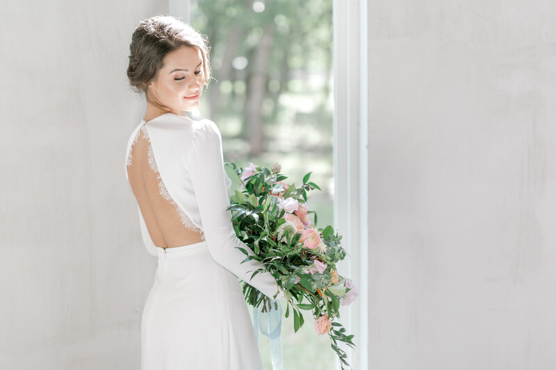 Texas bridal portraits by Marissa Merritt