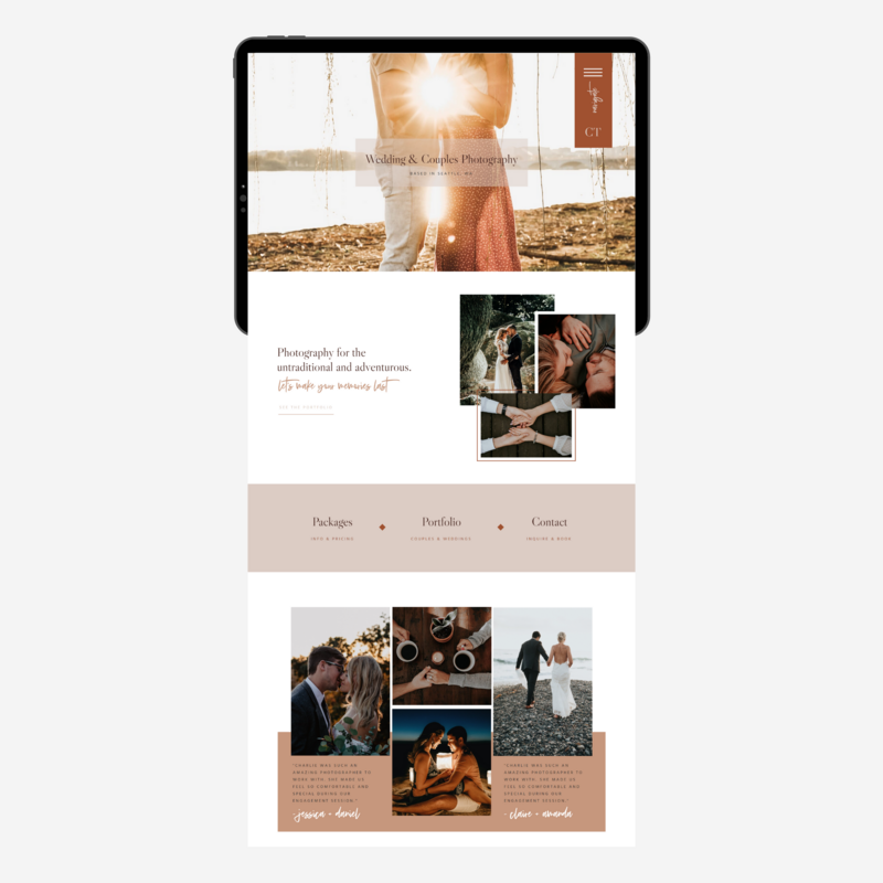 Showit Website Template for Service Providers