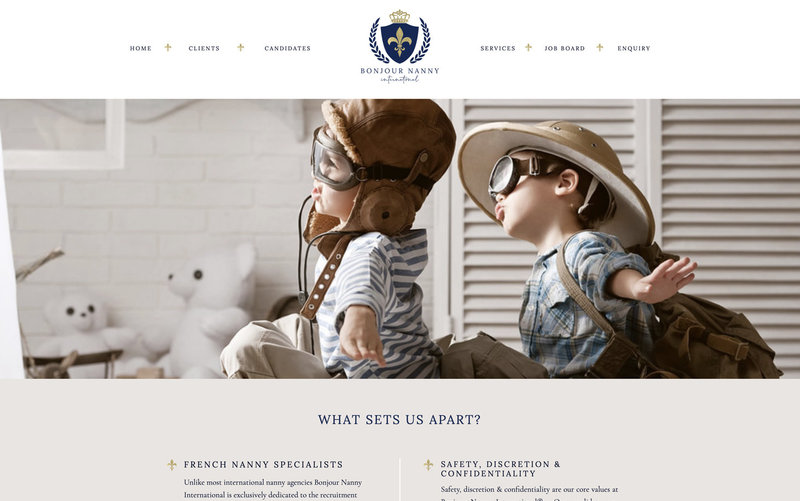 Handcrafting Heartfelt Brand & Website Designs for Female Creatives |  Showit | Showit Templates | by Viva la Violet | Bonjour Nanny International