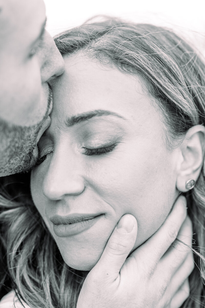 Montauk engagement photo