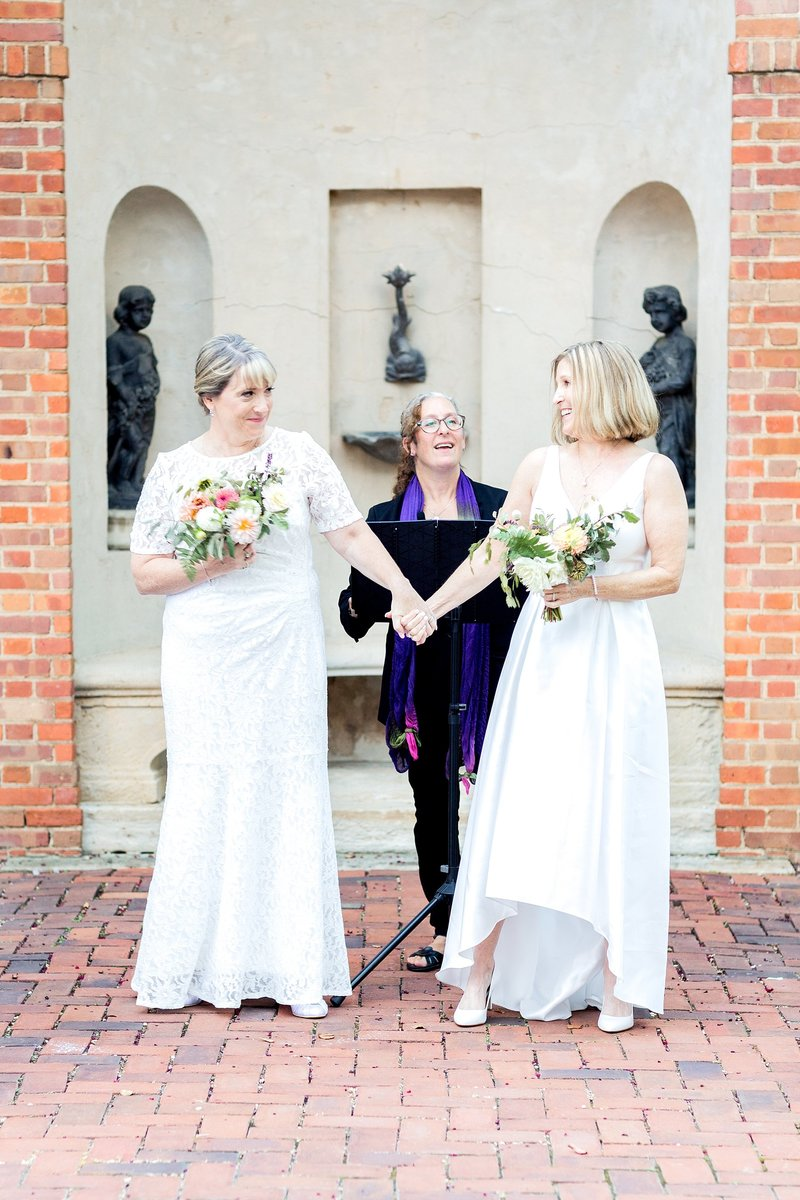 Same Sex Wedding The Dumbarton House DC Soleil and Katie Photography_0762