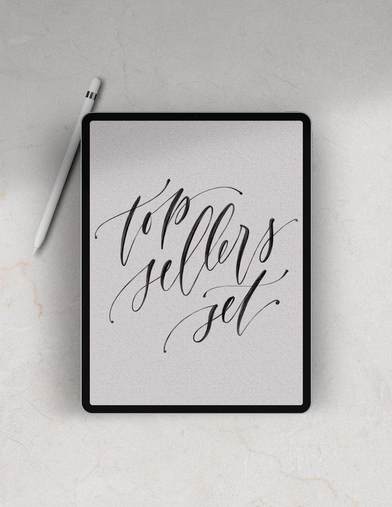 Calligraphy + Guides | Shop Saffron Avenue, Brand Styling
