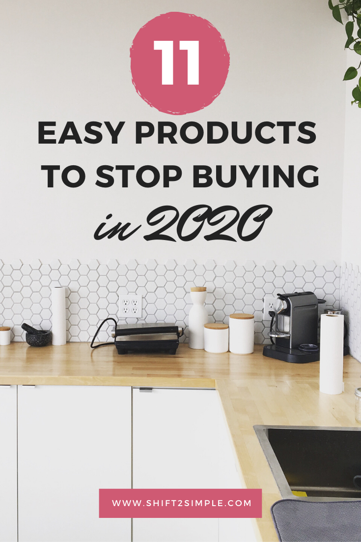 11 easy products to stop buying (1)