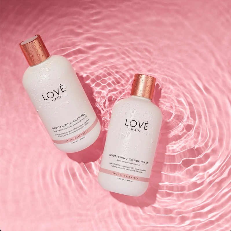 Love Hair Revitalizing Shampoo; Love Hair Nourishing Conditioner