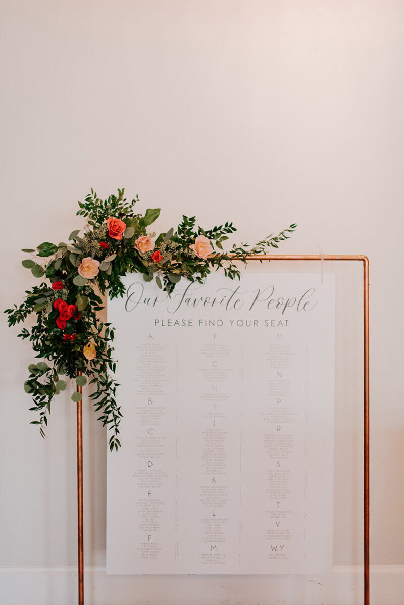 pirouettepaper.com | Wedding Stationery, Signage and Invitations | Pirouette Paper Company | Seating Charts 70