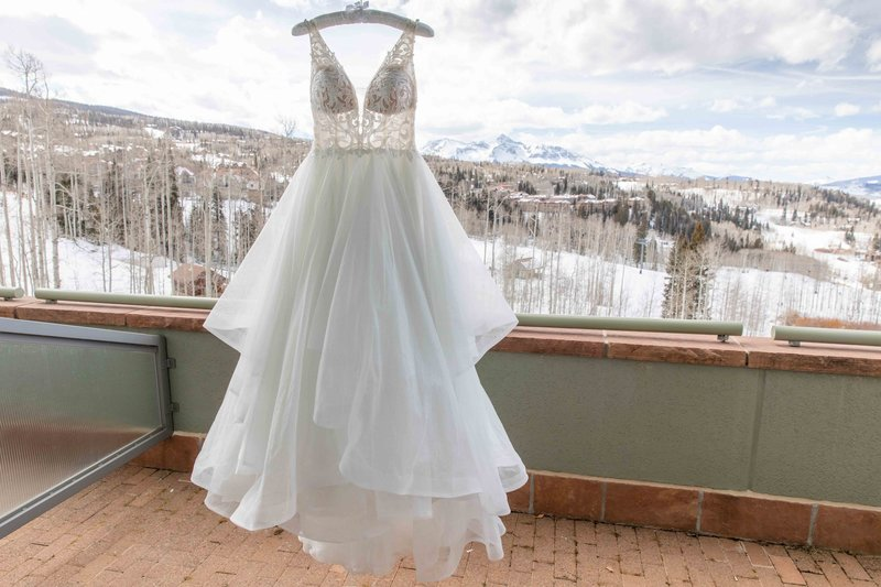 The peaks resort & spa wedding