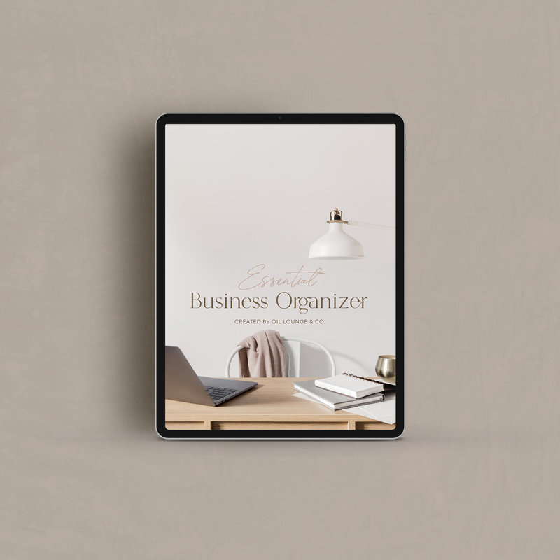 Oil Lounge Business Organizer 3