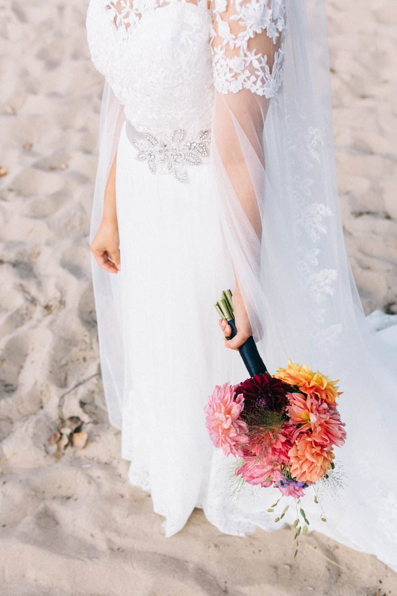 Holland State Park Wedding Detail by Sidney Baker-Green