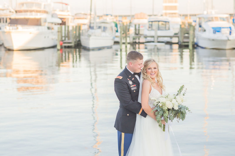 Mr. & Mrs. McDonald | A Coastal Destination Wedding | Bay St. Louis, Mississippi
