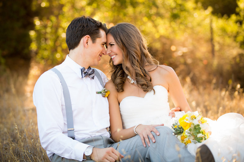 Daley Ranch wedding photos outdoor rustic open field