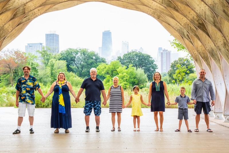 Chicago Family Portrait Session Monica Inglot Photography