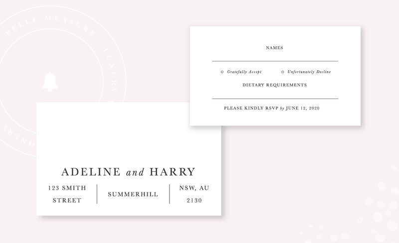 Belle-Measure_Adeline-Wedding-Collection_RSVP