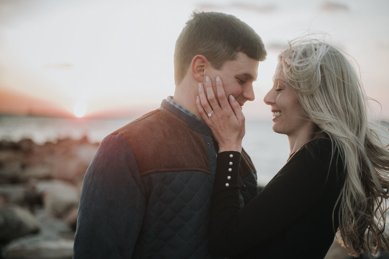 Sunset Engagement Portraits