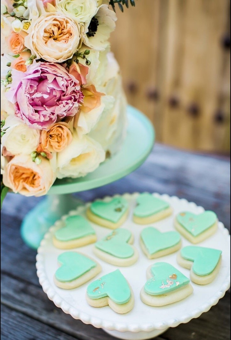 Custom Cactus Wedding cookies Scottsdale