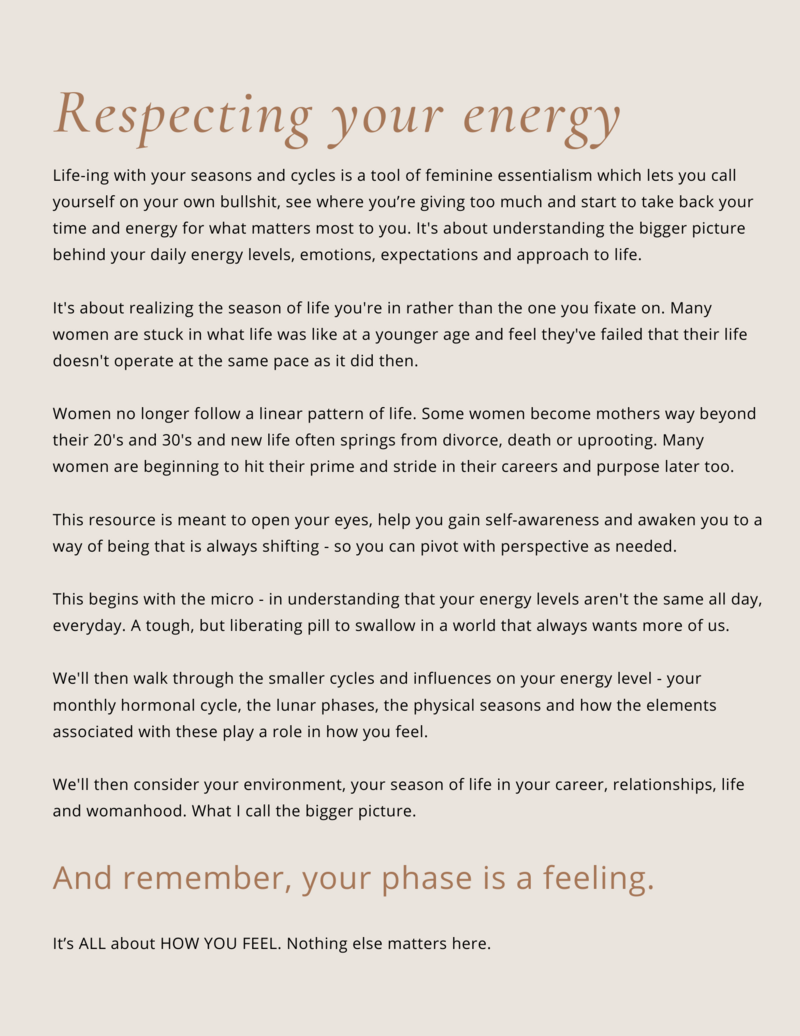 Honor Your Energy (3)