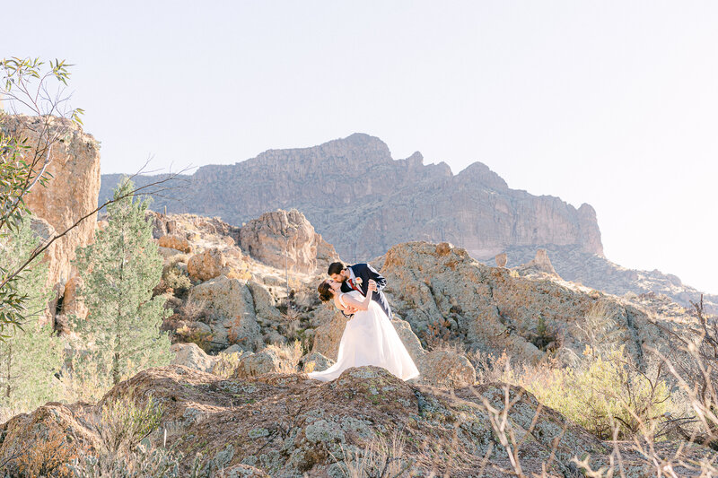 Boyce Thompson Arboretum Wedding - Robbie And Jen - Phoenix Wedding Photographer - Atlas Rose Photography AZ21