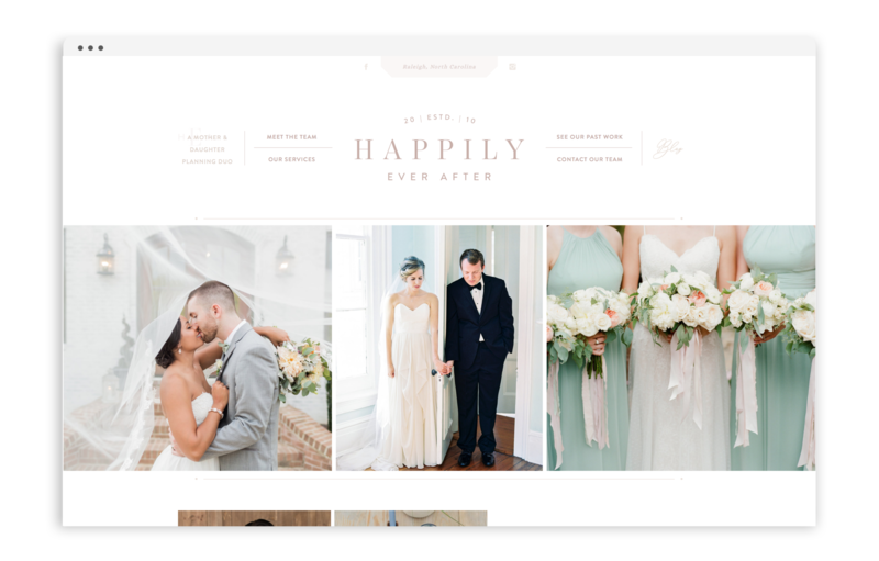 With Grace and Gold - Branding, Web Design, and Education for Creative Women in Business - Happily Ever After Events Raleigh - 2