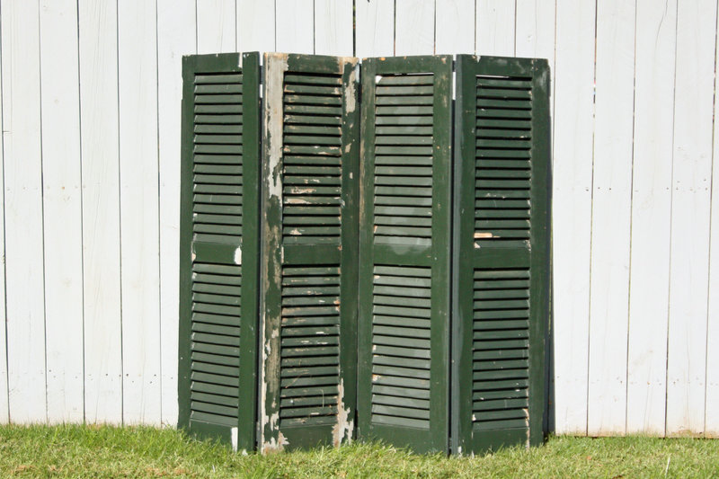 01042_Medium Green Hinged Shutters