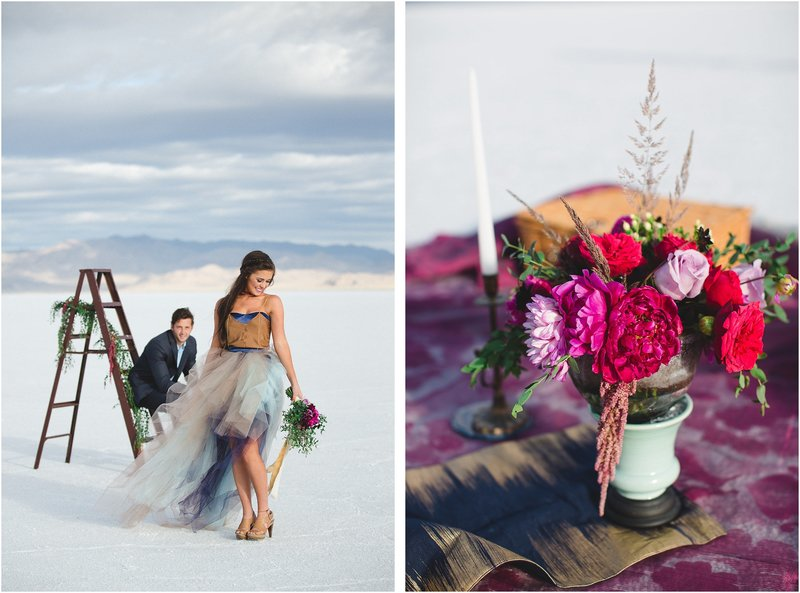 salt flat utah bright wedding photographer
