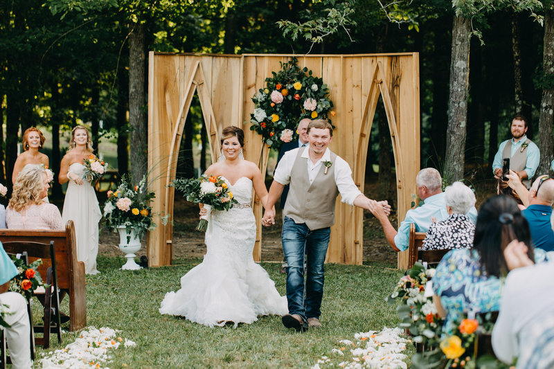 Outdoor Kentucky Wedding