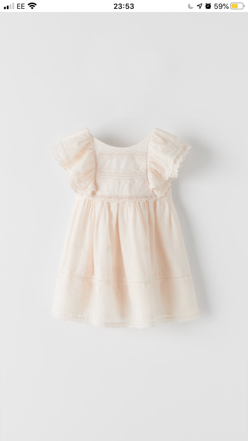 LoriLoves_ClientWardrobe - Pink Embroidered Dress 3-4Y
