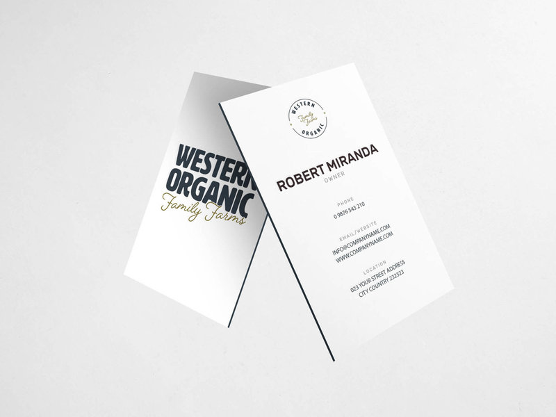 Western Organic Family Farms - Amanda Scott Creative - Custom Branding and Website Design for Creative Entrepreneurs