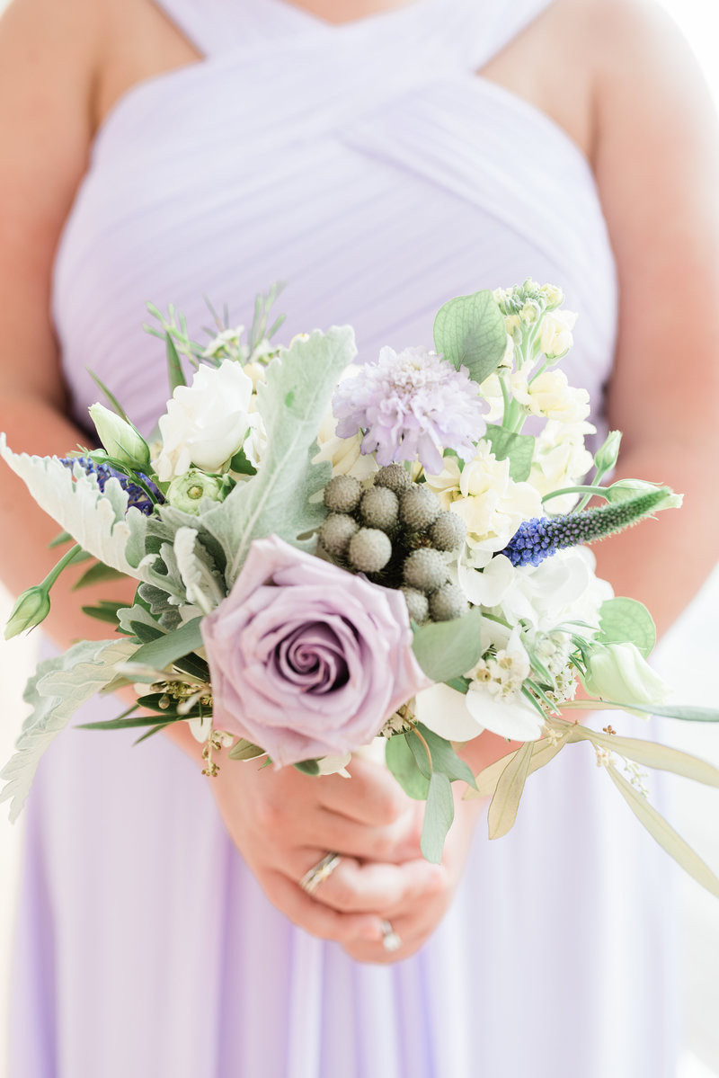 lavender wedding bridal bouquet