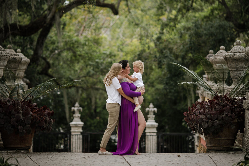 same-sex-maternity-session-miami-vizcaya1