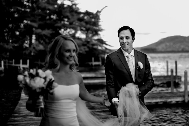 wedding-couple-on-dock-island-wedding-andy-madea-photography-vermont-wedding-photographer