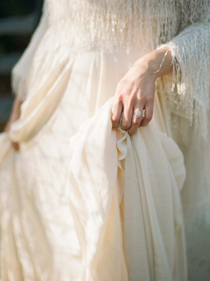 whimsical bridal gown